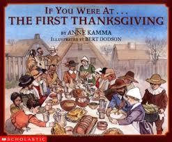 thanksgiving living books for elementary students