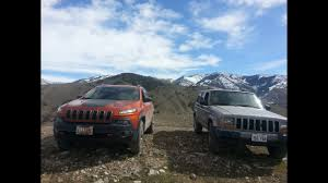 old white jeep old vs new jeep cherokee off road comparison youtube