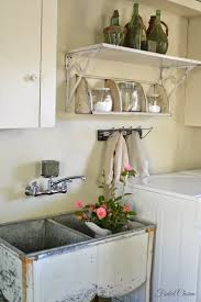 Laundry Room Storage Between Washer And Dryer by Faded Charm Laundry Room Essentials