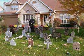 home lawn decoration 13 halloween front yard decoration ideas