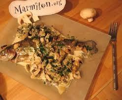 cuisiner des truites truites aux petits légumes et sauce chignon recette de
