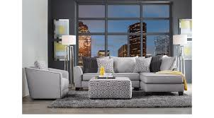 Sectional Living Room Sets 1 649 99 Ash Gray Ford Landing Gray 6 Pc Sectional Living