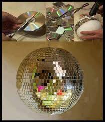 easy old cd projects ideas diy for home decoration
