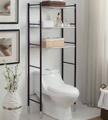 Bathroom Space Saver Cabinet Bathroom Over The Toilet Linen Storage Metal Over The Toilet