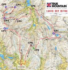 Race Map Skyrunning Uk Announce Lakes Sky Ultra Skyrunning Uk