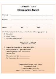 non profit donation receipt blank template free word and jpg