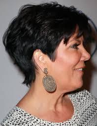 back of chris jenner s hair kris jenner dangling diamond earrings kris jenner haircuts and