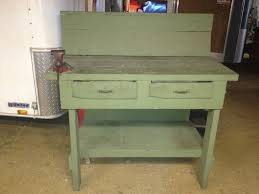 Antique Woodworking Bench For Sale by Vintage Workbench Antiques Ebay