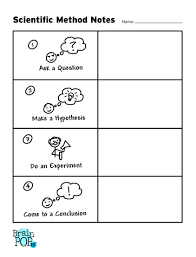 scientific method graphic organizer brainpop educators