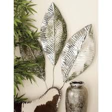 Fern Decor by American Home 20 In X 37 In Natural Black White And Bronze