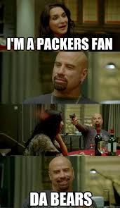 Bears Packers Meme - i m a packers fan da bears skinhead john quickmeme