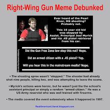 Common Memes - make common sense common again right wing gun memes debunked