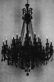 Crystal And Black Chandelier Best 25 Gothic Chandelier Ideas On Pinterest Black Chandelier