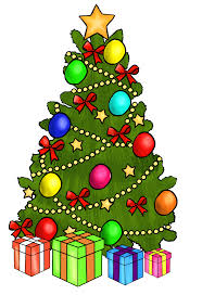 beautiful christmas tree decorating ideas for you library vector