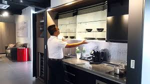 Hafele Kitchen Cabinets by Hafele Futuristic Kitchen Youtube