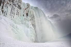 niagara falls isn u0027t frozen globe mail