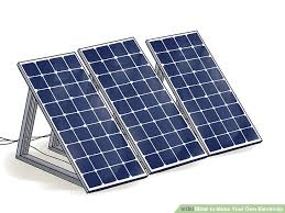 buy your own solar panels how to make your own electricity with pictures wikihow