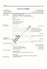 Resume Computer Skills List Example by Curriculum Vitae Server Skills Objective Statements On Resumes