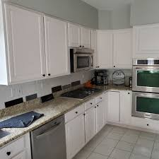 how to remove polyurethane from kitchen cabinets tips for repainting kitchen cabinets dengarden