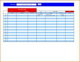 Sample Stock Portfolio Spreadsheet 100 Debt Sheet Template Organized Bill Paying Archives