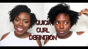 styling my new haircut curl defining short tapered hair youtube
