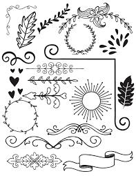 halloween wreath transparent background doodle clip art doodles digital clipart instant digital