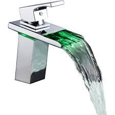 sumerain sum s1380cm water flow power chrome one handle bathroom