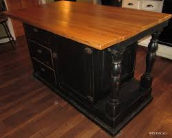 kitchen island furniture stunning black wooden color distressed kitchen island features