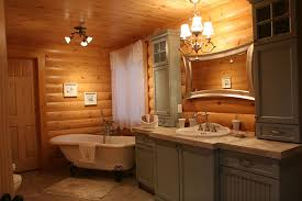 cabin bathroom designs 12 insanely gorgeous log house bathrooms tin pig
