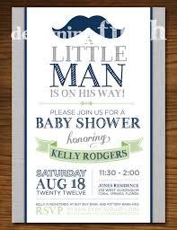 baby shower invitations popular little man baby shower
