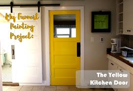 Yellow Kitchen Paint by Mustard Yellow Kitchen Door Painting Project With Before U0026 After