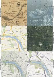Skyrim Quality World Map by Game Maps And Skyrim