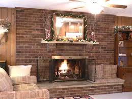 brick fireplaces ideas makeovers how whitewash fireplace full wall