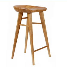 bar stool buy spacious solid wood bar stools at breakfast kitchen room wooden