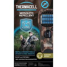 thermacell portable mosquito repellers turn it on u2026 mosquitoes