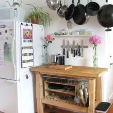 kitchen island hanging pot racks 10 ideas to organize a small kitchen ward log homes