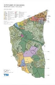 New Jersey Area Code Map Zoning Officer Holmdel Township Nj Official Website