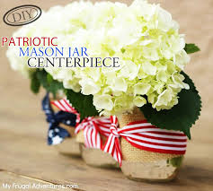 diy patriotic mason jar centerpiece u2013 top easy july 4th holiday