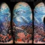 ocean tattoos ocean inspired tattoo sleeve wave themed