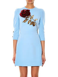 Best Shades Of Blue Dolce Gabbana Blue Dress Best Dressed