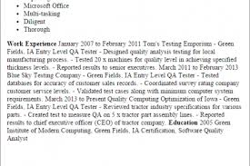 Sample Resume For Qtp Automation Testing by Qtp Automation Testing Resume Scribd