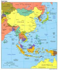 map asie carte asie australie