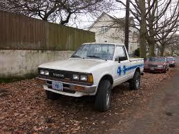 slammed datsun truck the street peep 1984 datsun 720 4x4