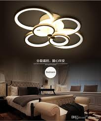 round 40w led ceiling light fixture l bedroom kitchen 2018 modern minimalist round acrylic led ceiling lights 6 heads 8
