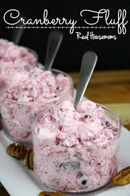 cranberry fluff real housemoms