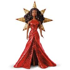 2017 african american holiday barbie ornament keepsake