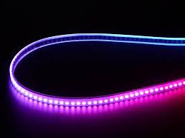 Mini Led Light Strips by Adafruit Mini Skinny Neopixel Digital Rgb Led Strip 144 Led M