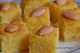eau de fleur d oranger cuisine basboussa aux amandes la cuisine de ponpon rapide et facile