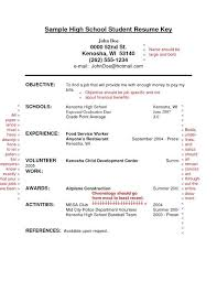 high student resume no experience sles how to make a resume with no experience exle best resume no