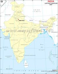 India Map With States by India Lat Long Map India Pinterest Lat Long Map And India